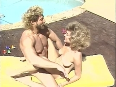 Frankie Leigh, Jeannie Pepper, Kim Alexis in classic sex movie