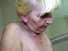 OldNanny Young girl masturbate and licking