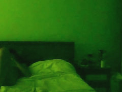 Hot east-european girl makes a sextape with her bf in the bedroom