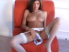 Crazy Homemade clip with Lingerie, Solo scenes