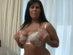 British mother I'd like to fuck shows off delicious body and has marital-device enjoyment