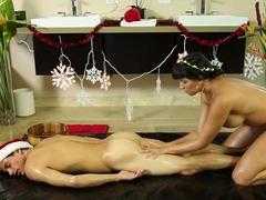Exotic pornstars Mercedes Carrera, Tyler Nixon in Horny Showers, MILF xxx scene