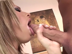 Horny pornstar in incredible anal, creampie adult clip