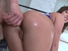 Pretty girl loves anal and has a huge ass...