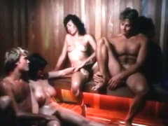 Horny asian retro clip with Misty Dawn and Kay Parker