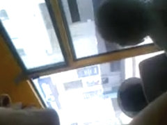 Downblouse russian small tits in bus