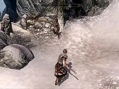 Perils of escaped Skyrim slavegirl 03