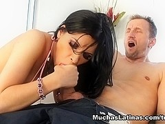 Rebeca Linares in Too Good To Be True