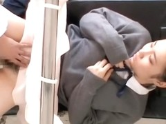 Ass of japanese slut gets drilled by the horny gynecologist