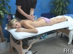Erotic massage with hot hammering