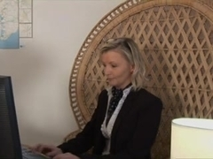 mother I'd like to fuck blond secretary enjoys hawt anal pounding