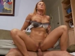 Redhead mother I'd like to fuck receives screwed (OH4P)