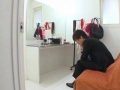 Model Akiho Yoshizawa´s Rough Fucking In Her Dressing Room