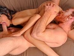 Heather Vahn & James Jamesson in Don't Tell Grandma Video