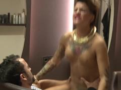 Hottest pornstar in Fabulous Gothic sex scene