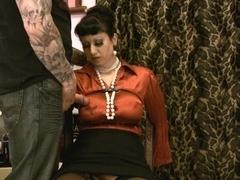 Trinity-Productions: Satin Milf Distress 2