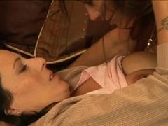 Lesbo Babysitters three - Scene 1