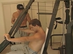 J R Carrington Threesome at the Gym