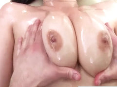 Bitchy Noelle loves to suck his big cock hot body rub