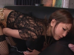 Exotic Japanese model Aika in Horny JAV uncensored Creampie clip