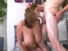 Crazy pornstar in Exotic Big Tits, Brunette porn scene