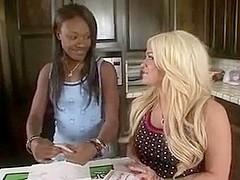 Black Dad copulates not Daughters best blond Friend