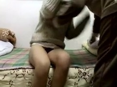 Latin couple sex at home