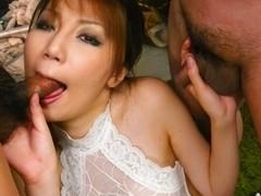 Horny Japanese chick Yuria Kano in Best JAV uncensored Blowjob scene