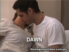 Gutsy Dark Brown Dawn Does Unfathomable Anal