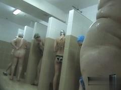 Hidden cameras in public pool showers 795