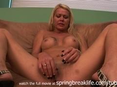 SpringBreakLife Video: Hot Milf Slut Gets Naked