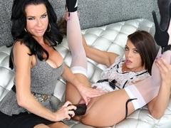 Veronica Avluv & Adriana Chechik in Pussy Acrobats #02 Video