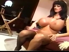 Sofia Staks Mega Tits Fucked By The Rocks