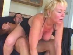 Hawt Granny Cougar Engulf and Fuck