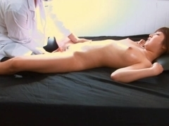 Hitomi Kitagawa Moans As Her Oiled Pussy Is Massaged