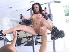 Asian pornstar Mya gets nailed and facialized