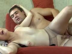 MaturesAndPantyhose Video: Rita and Bobbie