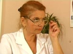 German Breasty Granny Doctor