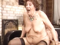 German Wild Grandma by snahbrandy