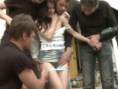 The Perfect Picture Tiny Russian Girl Ganbanged Two Dicks in Ass