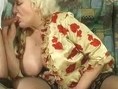 Breasty Granny Drilled