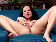 Horny pornstar in Incredible Solo Girl, Brunette adult clip