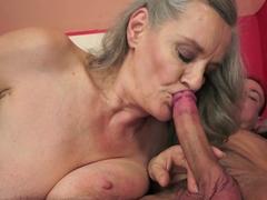 Crazy pornstar in Incredible Cunnilingus, Grannies adult scene