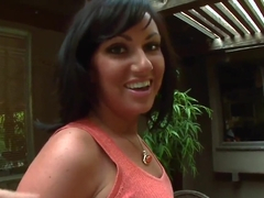 Hot Latinas curve Valerie Luxe sucks a dirty and huge dick