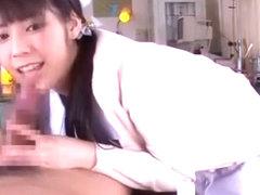 Exotic Japanese whore Ruka Kanae in Amazing Nurse/Naasu, Handjobs JAV clip