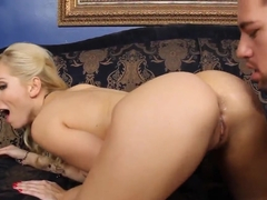 Sweet blonde Ashley Fires adores being hard cock exhausted!