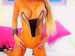 Amazing body of a stripper