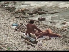 Cuckold wench at the beach
