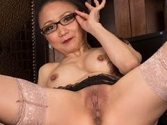 Kim in Sexy Old Lady Scene