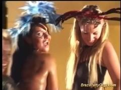 brazilian groupsex dance party orgy